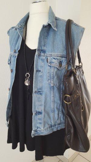 Jeansjacke ohne Ärmel XL