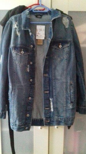 Takko Oversized Jacket blue