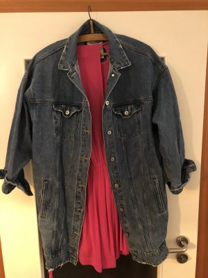 Bershka Denim Jacket blue