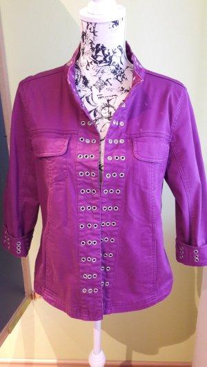 Jeansjacke purple