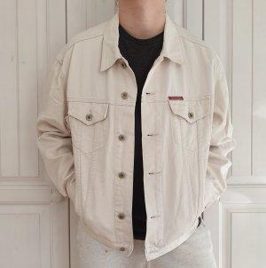 Jeansjacke Redwood Jeans jacke True vintage L oversize weiß Mantel Denim