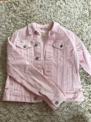 H&M Denim Jacket light pink