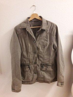 Jeansjacke Soccx Größe 38 khaki