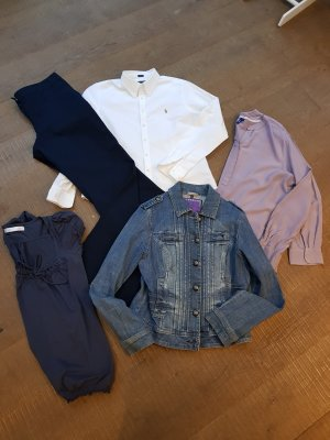Jeansjacke Street One, Bluse Polo Ralph & Cecil, Hose Brookshire, Shirt Zara Gr. 40 / 42