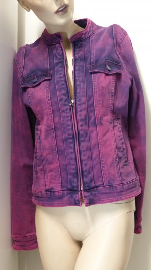 More & More Veste en jean multicolore coton