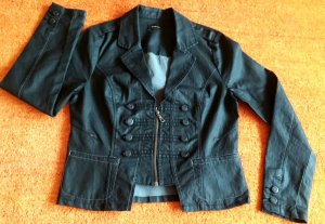 Jeansjacke Stretch Gr. M in Schwarz von GEISHA JEANS DENIM TOP