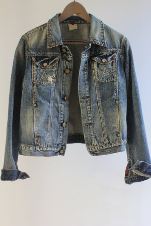 7 For All Mankind Denim Jacket pale blue-slate-gray