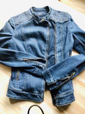 7 For All Mankind Veste en jean bleu