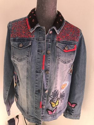 Jeansjacke von Alba Moda Größe 44, NEU ohne Etikett