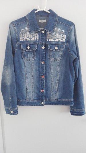 Aniston Denim Jacket slate-gray mixture fibre
