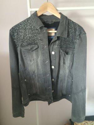 Jeansjacke von Bogner mit Strass-Elementen