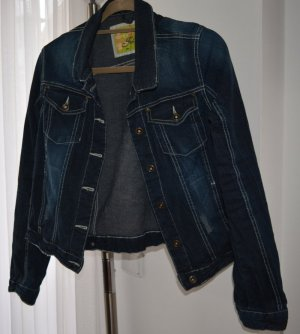 Jeansjacke von Fresh Made Gr. L
