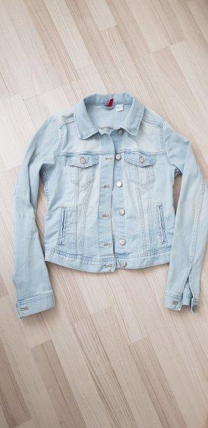 H&M Spijkerjack azuur
