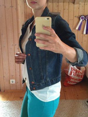 Jeansjacke von H&M blau