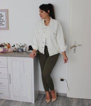 Jeansjacke von H&M mit Perlen