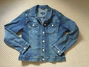 Jeansjacke von JAKE'S Blau Gr. L / 40 Jacke top Waschung JAKE*S Übergangsjacke