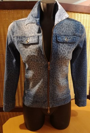 #Jeansjacke von #Jones Gr.32 #Leoprint