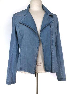 Levi's Veste en jean bleu azur coton