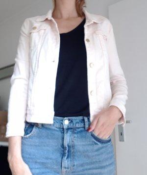 Mango Jeans Veste en jean rosé