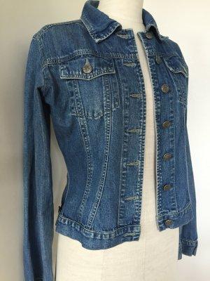 Jeansjacke von Only aus leichtem Jeansstoff