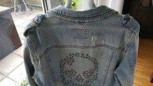 Jeansjacke von ONLY Gr. 40