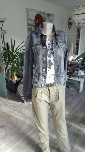 Tchibo / TCM Veste en jean bleu-bleu foncé