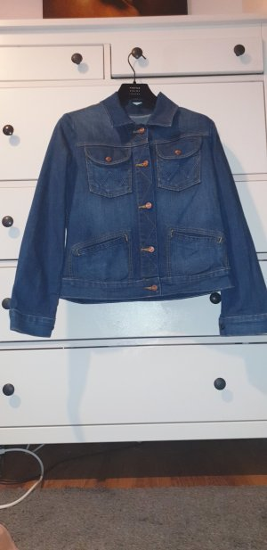 Wrangler Veste en jean bleu