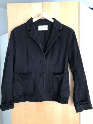 Jeansjacket in schwarz