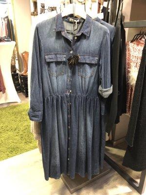 SusyMix Denim Dress blue cotton