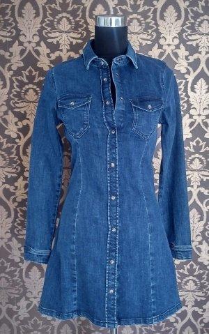 Denim Dress steel blue