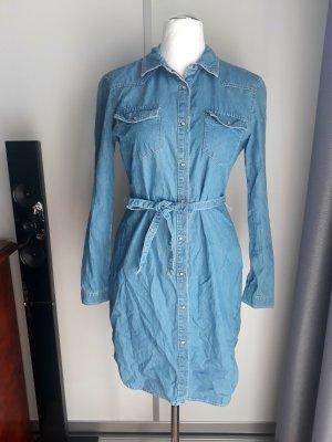 Clockhouse Denim Dress pale blue-azure
