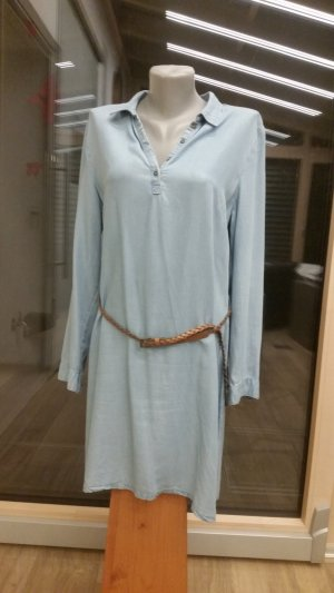 Manguun Denim Dress pale blue