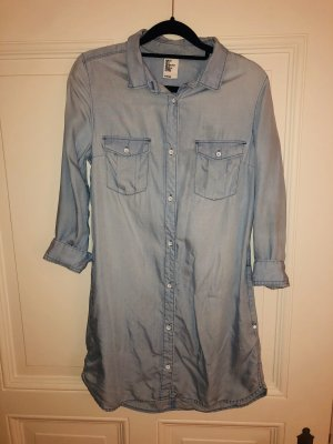 H&M Denim Dress azure