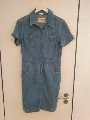 Summer of Love Denim Dress azure