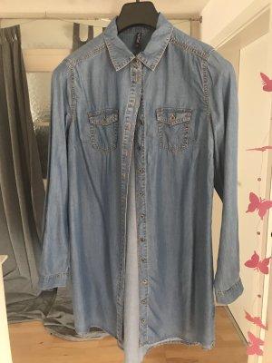 Jeansjurk korenblauw