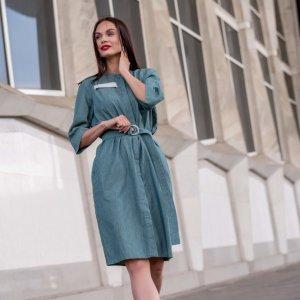 Denim Dress blue