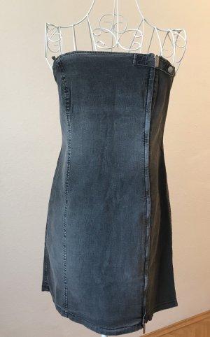 Armani Jeans Jeansjurk donkergrijs