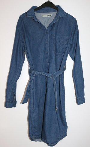 Jeanskleid blau von Topshop Gr. 36 S neuwertig