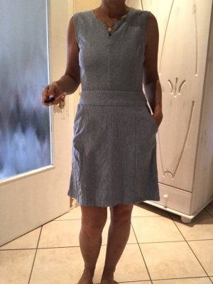 Jeanskleid blau weiß 36