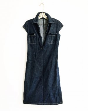 jeanskleid / denim dress / vintage / blue jeans / edgy
