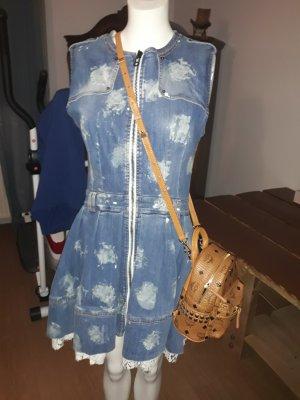 Zara Robe trapèze bleu