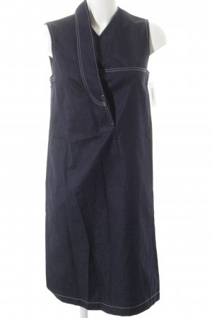Jeansjurk donkerblauw casual uitstraling