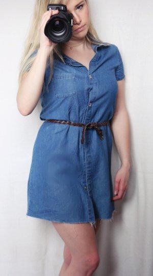 Jeanskleid dunkelblau, Zara, Größe 36, sehr guter Zustand