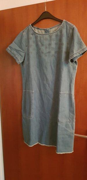Edc Esprit Denim Dress pale blue
