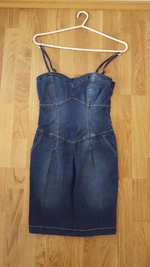 C&A Jeansjurk blauw