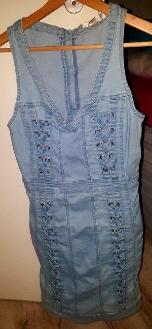 Amisu Denim Dress azure