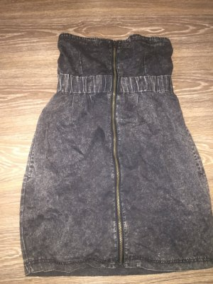 Jeanskleid grau von Fishbone