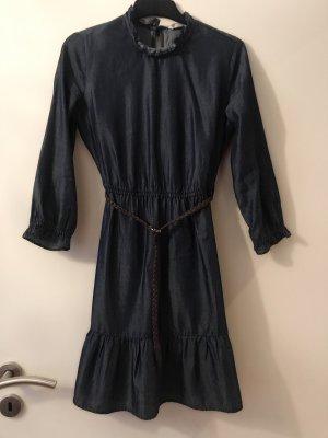 Vestido vaquero azul oscuro