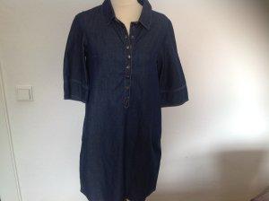 Jeanskleid, Kleid,  Fransa, blau, ¾ Arm, leichter Stoff, Gr. S, NEU, NP 39,90