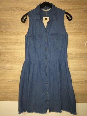 Jeanskleid Kleid Freizeit Gr M 38 blau neu